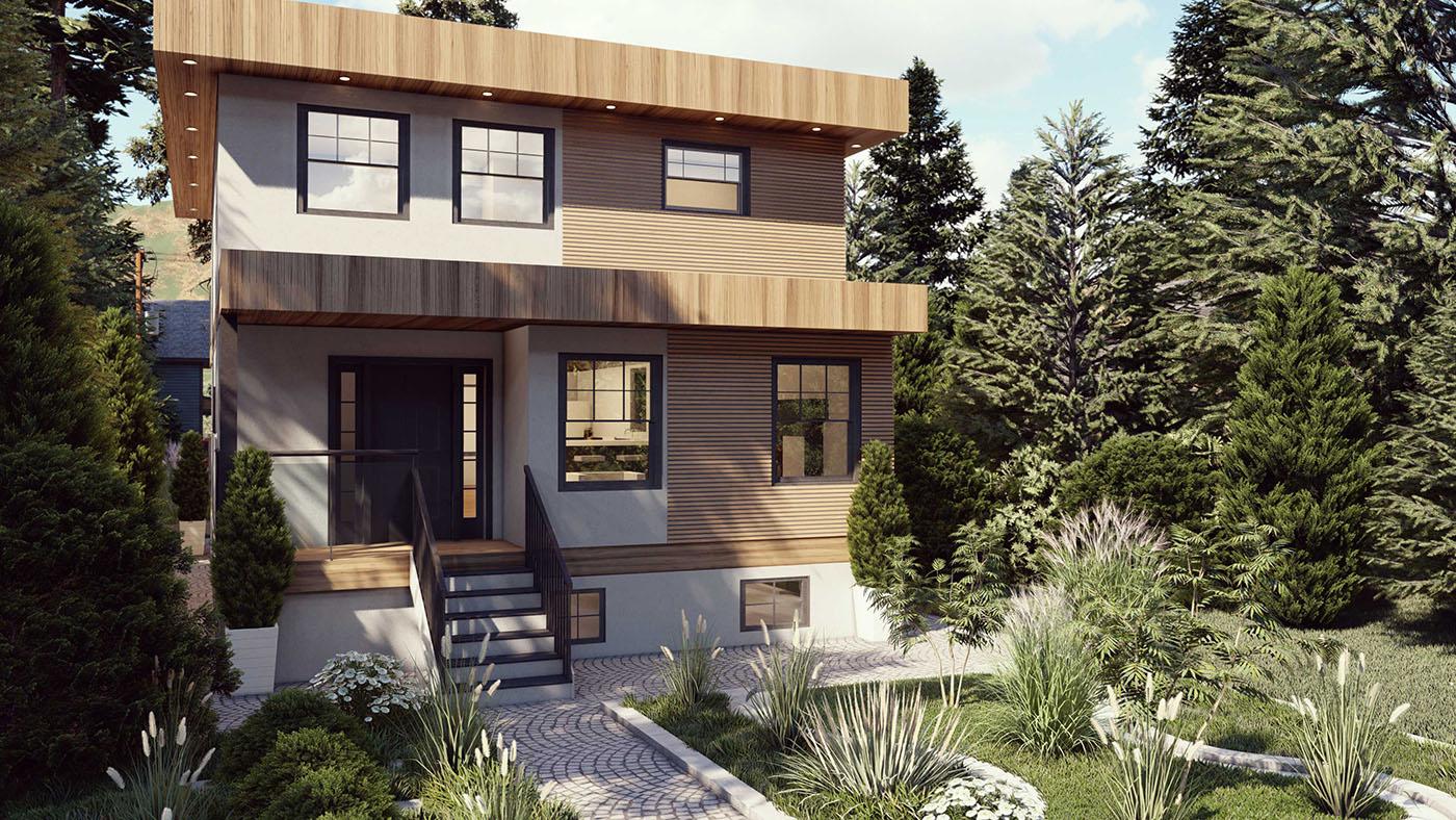 North Vancouver Modern home designer